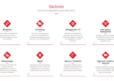 suministro sectores web diseno Diseño paginas web