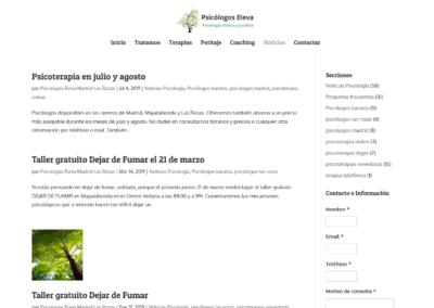 Talleres Psicoterapia Diseno Web