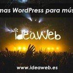 tema WordPress musica mejor