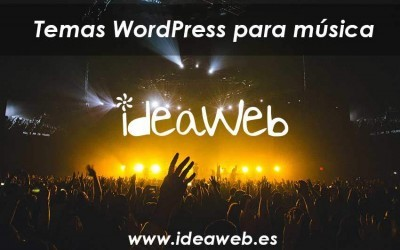 Temas WordPress para música. Los mejores temas musicales WordPress… larga vida al Rock & Roll.