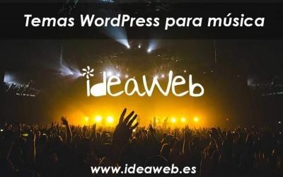 Merchato. Tema WordPress para música, grupos, representantes musicales y productores. Larga vida al rock&roll.