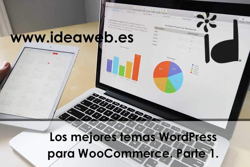 Wordpress, temas compatibles con Woocommerce. Selección de los mejores temas de Themeforest.