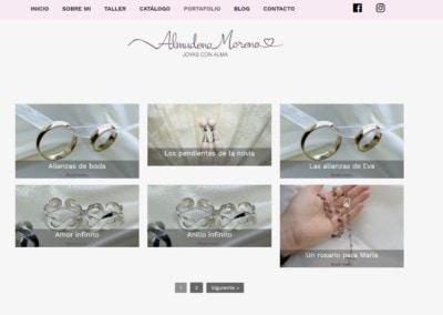 trabajos joyeria web madrid Diseño paginas web