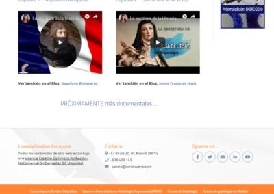 Tutoriales Grafologia Web Madrid