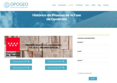 Ultimas Convocatorias Oposiciones Opogeo Pagina Web