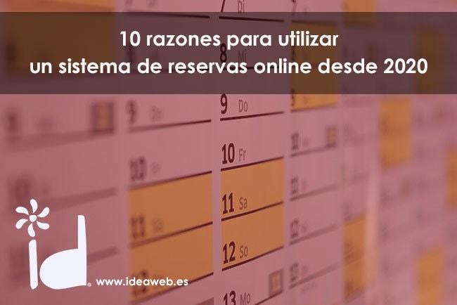 10 razones para utilizar un sistema de reservas online en tu página web para empresas de servicios