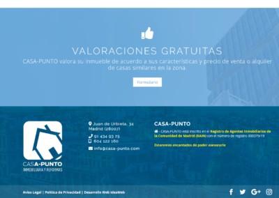 Valoraciones Gratuitas Inmobiliarias Diseno Web