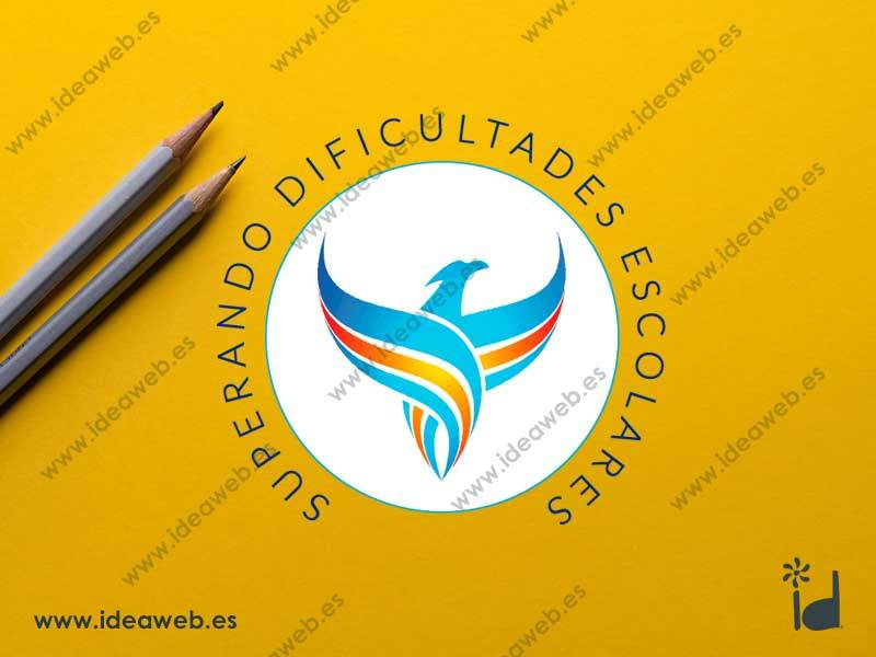 Vectorizado logotipo para empresa educación y psicología educativa en Madrid