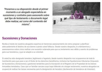 web abogados indemnizaciones gestoria Diseño paginas web