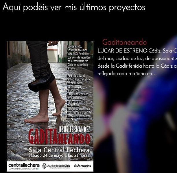 web para artistas España