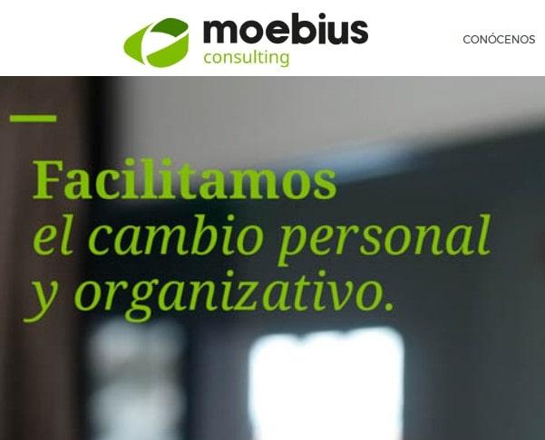Rediseño y reparación, mantenimiento web WordPress para empresa de consulting y coaching.  Consulting de empresas en Madrid.