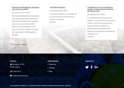 Web Creaarquitectos Consultores