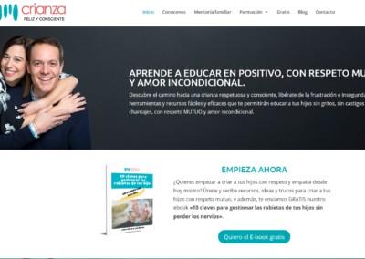 web crianza feliz consciente pagina