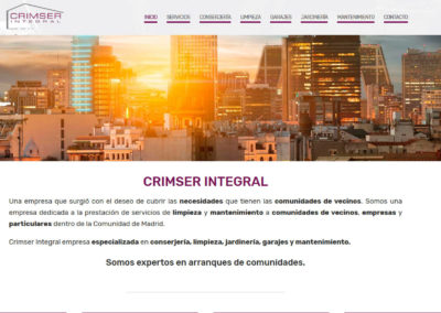 Diseño web empresa Madrid