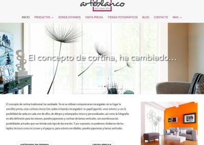 web decoracion casas cortinas