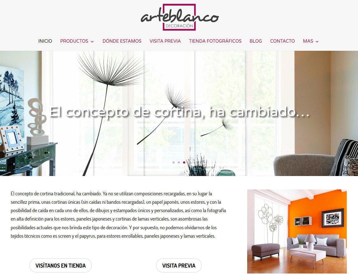 Web Decoracion Casas Cortinas