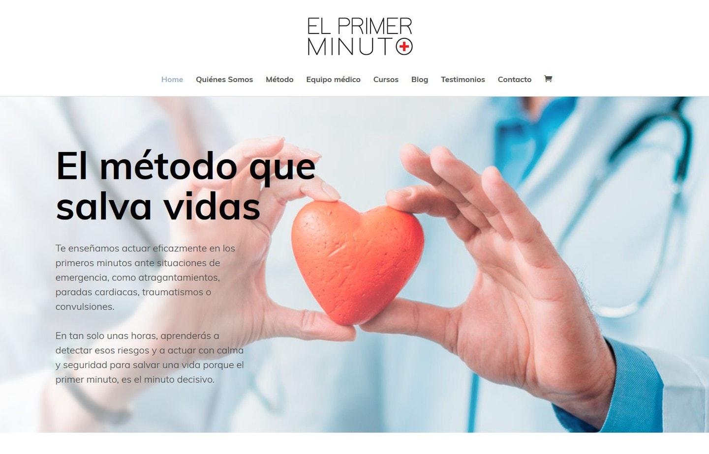 diseño web clinicas hospitales salud sanitarios