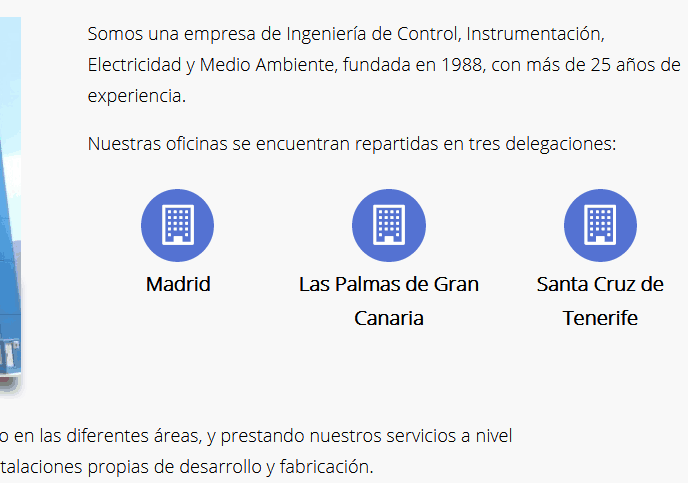 web ingenieros Madrid