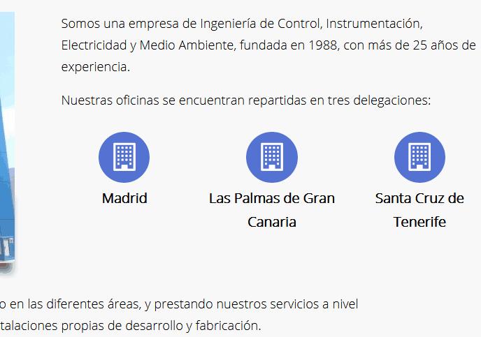web ingenieros Madrid