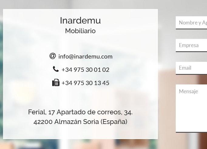 web empresa muebles
