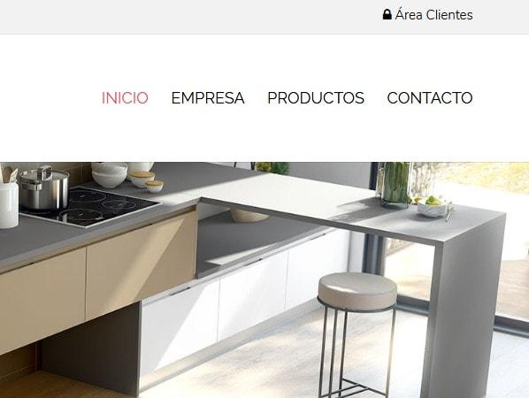paginas web muestras