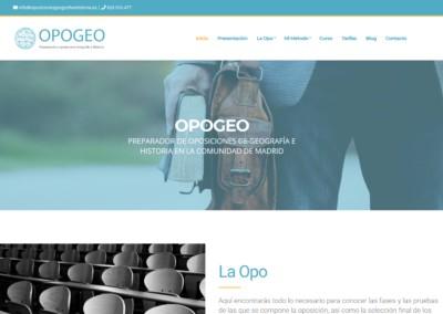 Web Opsiciones Geografia Historia Madrd