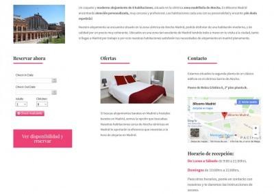 Web Para Alojamiento Hoteles