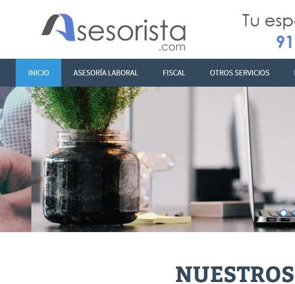 Rediseño y posicionamiento web para asesoría, asesores y consultores en Vallecas Madrid
