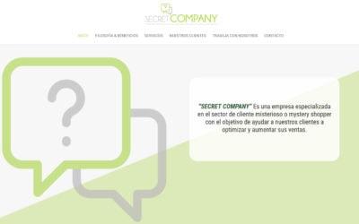 Diseño de página web para nueva empresa en Madrid marketing y sociología