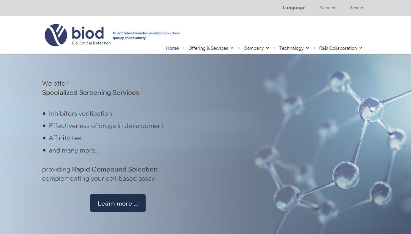 Web Para Empresa Optica