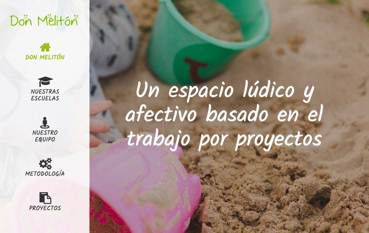 Diseño de página web escuela infantil, sitio web para guarderías de Madrid