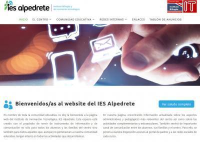 web para instituto profesorado Diseño paginas web