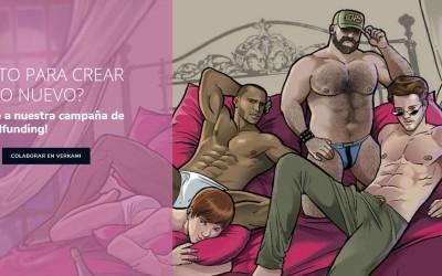 Diseño de página web para venta de juegos de mesa y entretenimiento temática gay