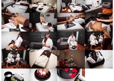 web para masajes salud Diseño paginas web