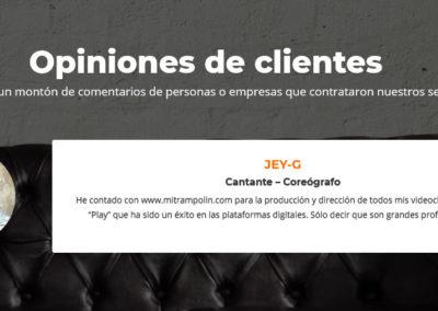 paginas web productoras