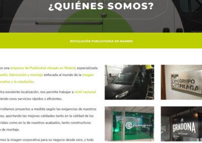 Web Para Rotulacion Empresa