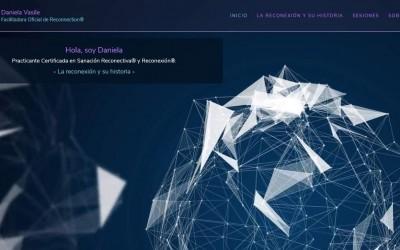 Diseño de página web para terapias energéticas en Madrid.