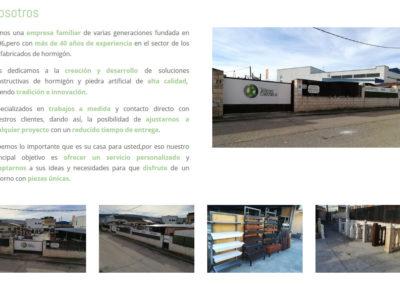 desarrollo catalogo web
