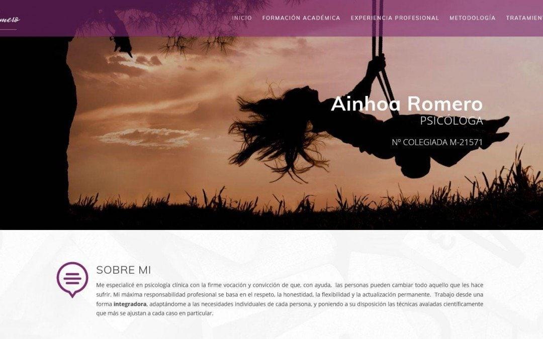Diseño de página web para psicólogos psicología terapias
