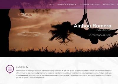 web psicologia terapia pareja Diseño paginas web