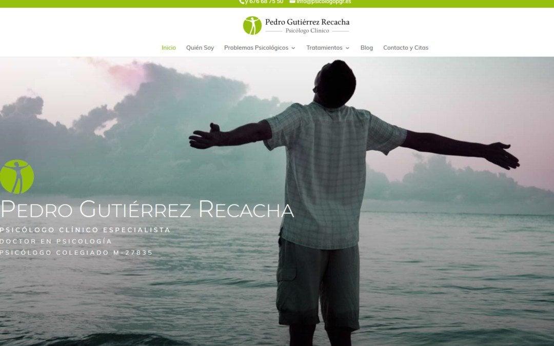 Diseño de pagina web para psicólogo clínico en Madrid