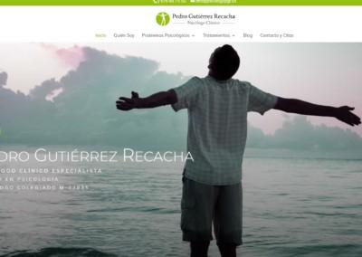 Web Psicologo Recacha Pagina