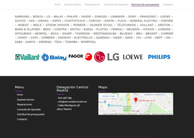 web para empresa