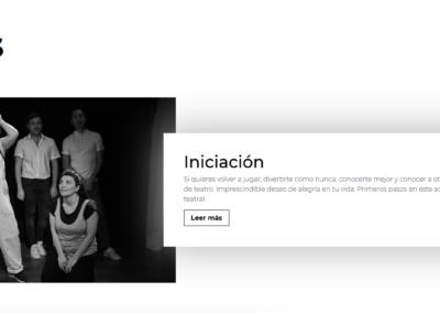 Web Teatro Cursos Madrid