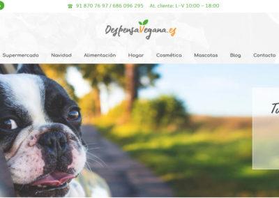 web tienda vegana alimentacion