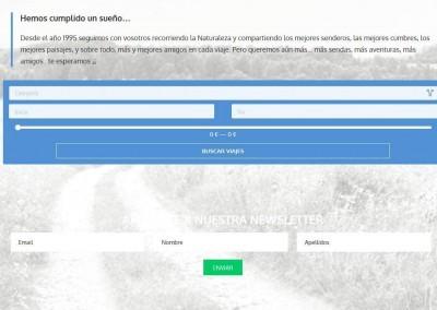 Web Viajes Buscador Rutas