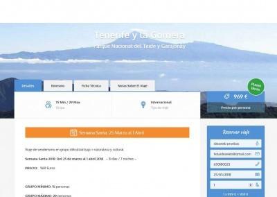 Web Viajes Turismo Vuelos