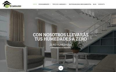 Diseño pagina web empresa de aislamientos