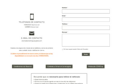 Web Alquiler Autocaravanas Monfrague