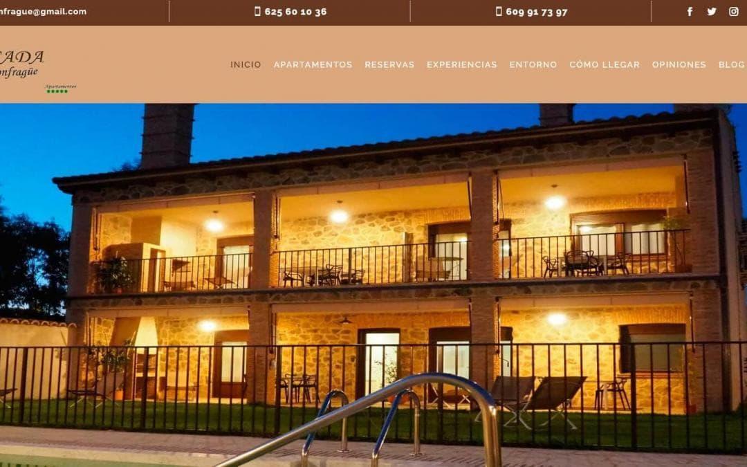 Diseño pagina web para alquiler de Apartamentos